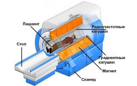 схема работы МРТ