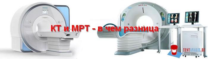 КТ и МРТ в чем разница