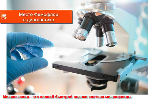 Место Фемофлор в диагностике урогенитальных инфекций
